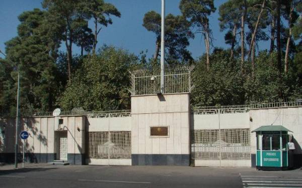 پروژه آنتن مرکزی سفارت روسیه