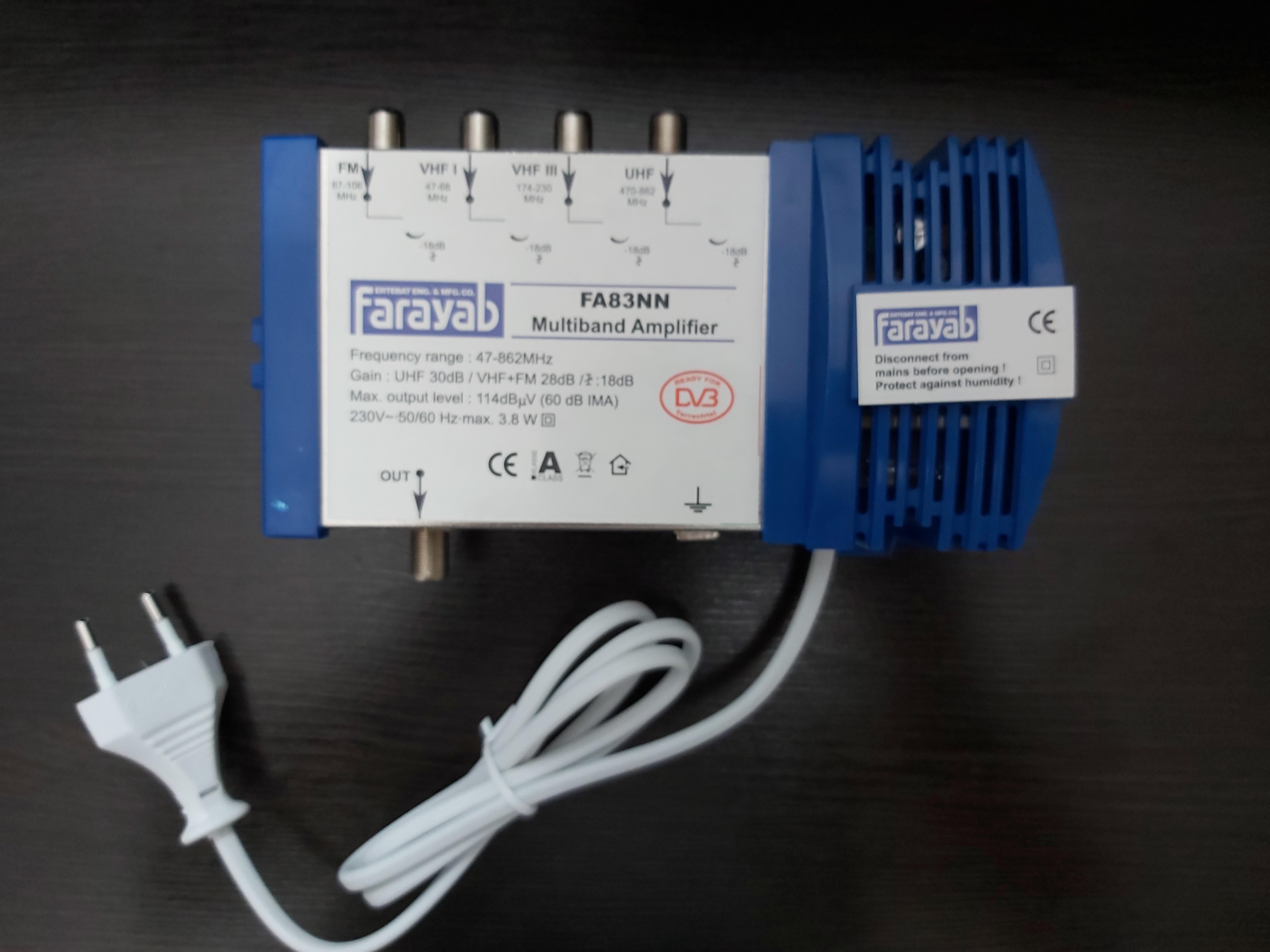 آمپلی فایر آنتن مرکزی FA83NN